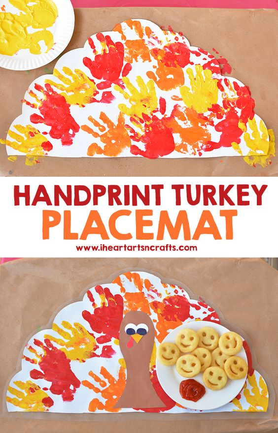 Thanksgiving Crafts for Preschool - Pre-K Kids to Make - Thanksgiving crafts preschool placemats ideas #craftsforkids #thanksgivingcrafts #preschoolcrafts #toddlercrafts #toddleractivities