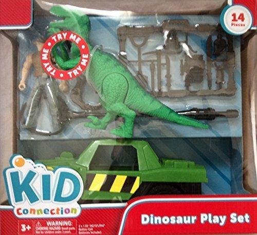 Dinosaur Play Set 14 Pieces Dinosaur Sound And Light