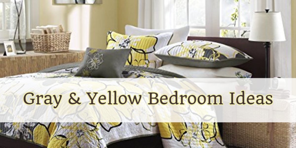 Gray and Yellow Bedroom Ideas -Yellow and Grey Bedding, Accent Colors & Bedroom Decor Ideas