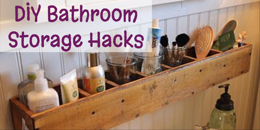 DIY Bathroom Storage Hacks Ideas - Bathroom Organization - bathroom storage