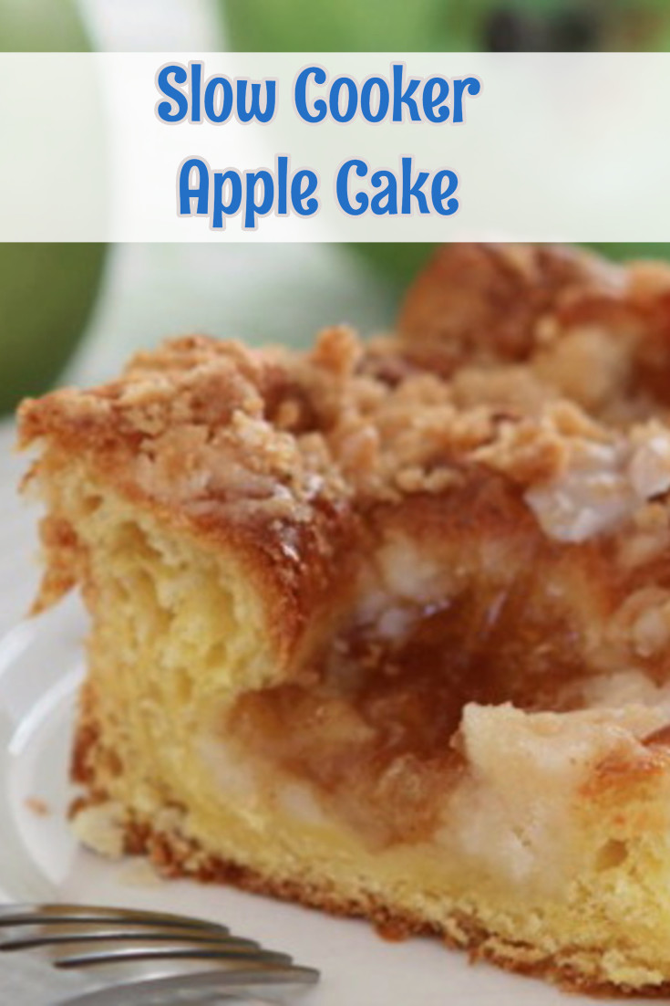 Slow Cooker Apple Cake Recipe - Bake Cake in Slow Cooker (slow cooker bread and cake recipes)