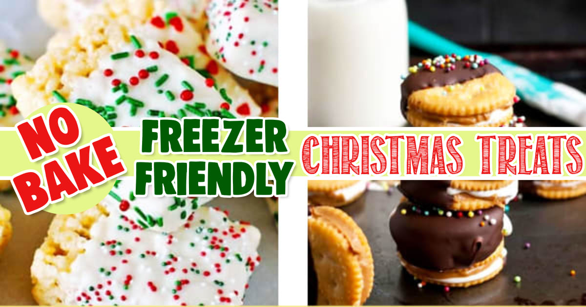 Freezable No Bake Cookies Christmas Treats Freezer Friendly Christmas Goodies and No Bake Christmas Cookies and Bars