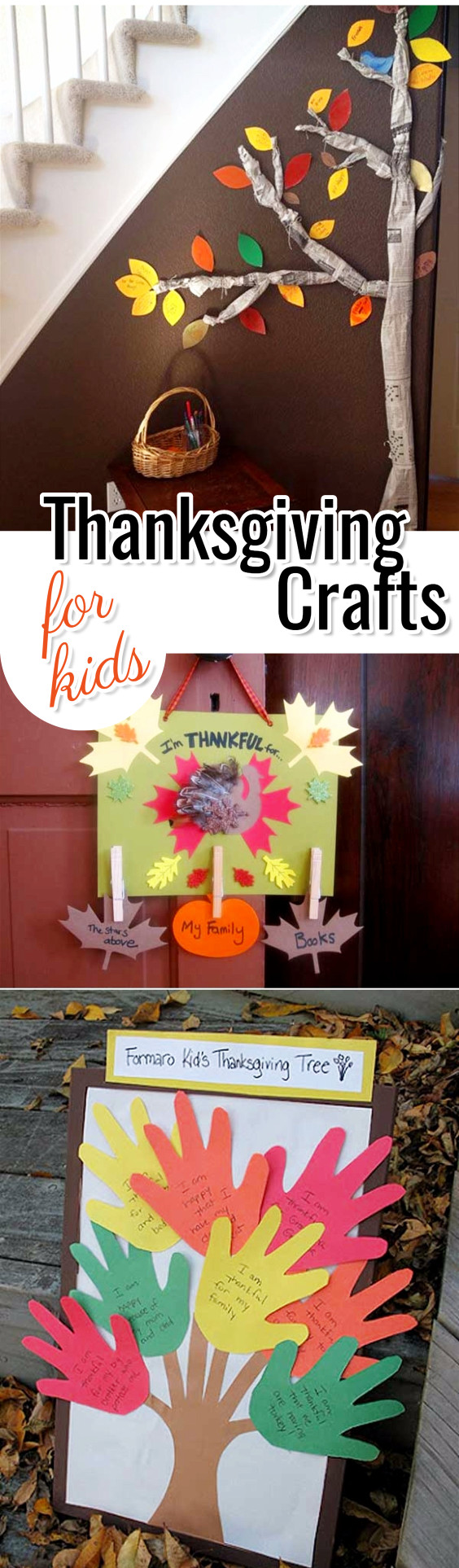 Thanksgiving Crafts for Kids - Fun and Easy Kids Craft Ideas for Thanksgiving #craftsforkids #thanksgivingcrafts #preschoolcrafts #toddlercrafts #toddleractivities
