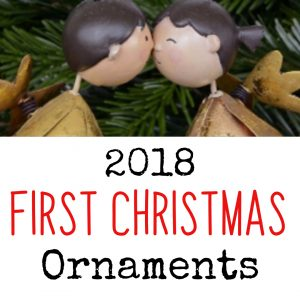 First Christmas ornament ideas - babys first Christmas, first Christmas engaged or married, new home, and much more