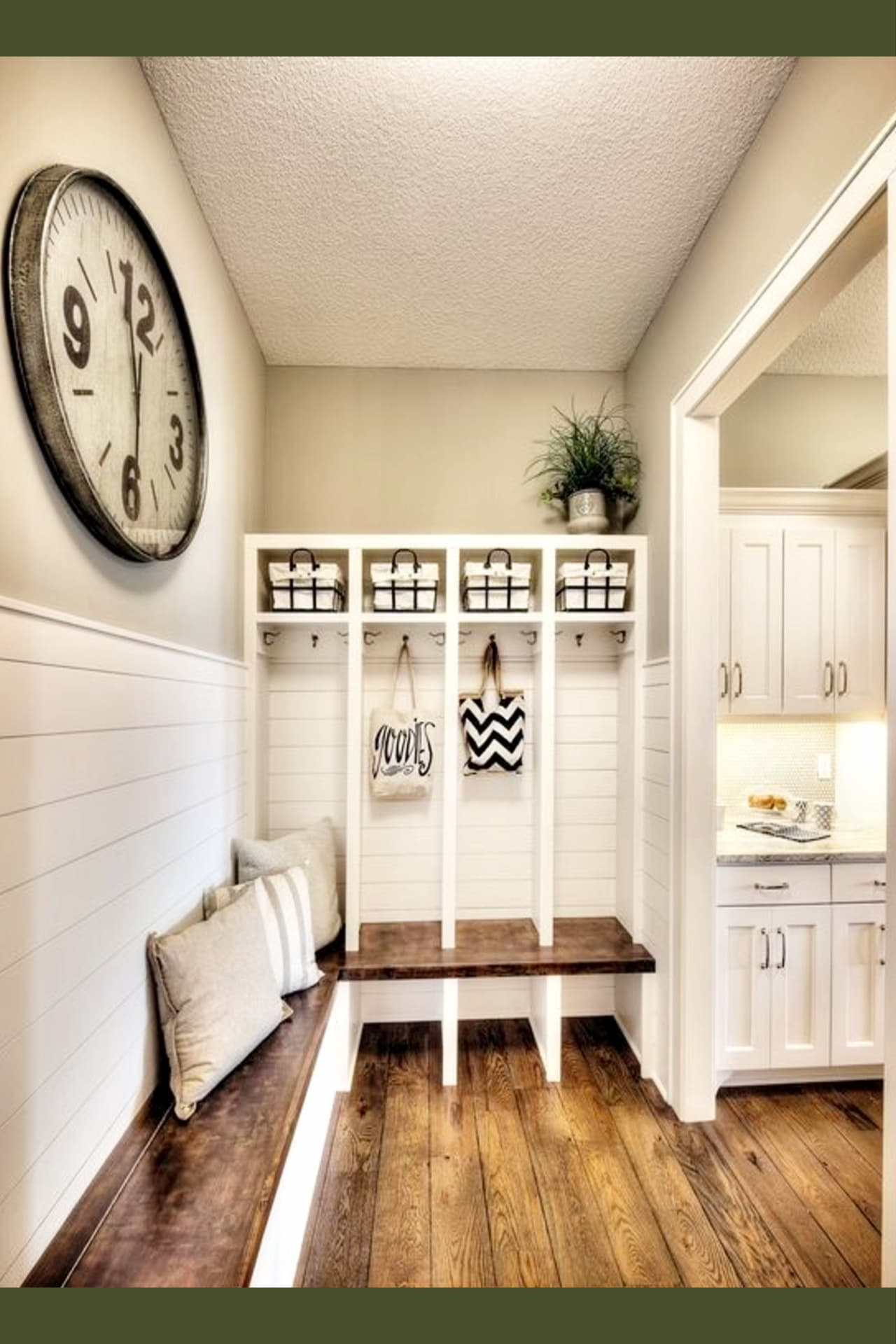 mudroom ideas - farmhouse mudroom ideas for a country style kitchen or entryway
