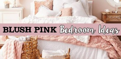 Blush Pink Bedroom Ideas – Dusty Rose Bedroom Decor and Bedding I Love