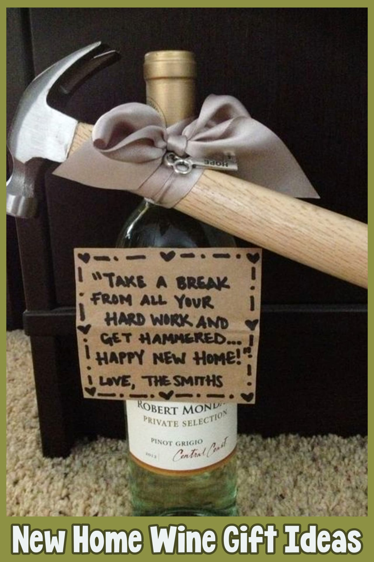 housewarming new home wine gift ideas for wine lovers - Housewarming Gifts For First Time Homeowners in Their First Home - Unique Housewarming Gift Ideas and DIY Housewarming Gifts They'll Love - First Time Home Buyer Gift Basket
