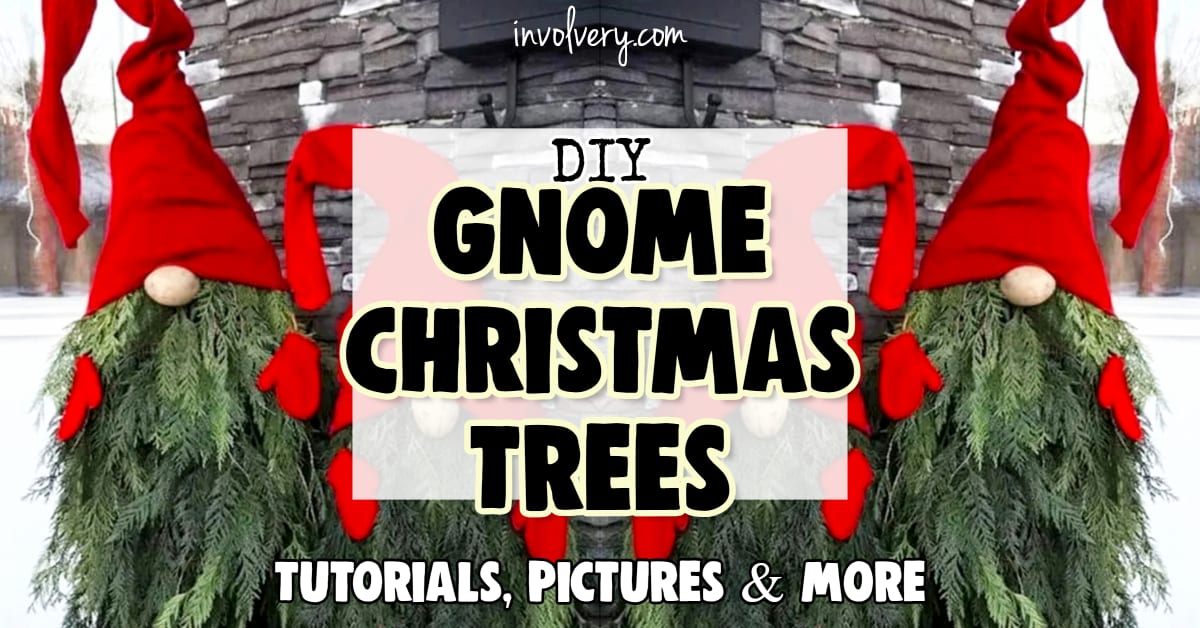 DIY Christmas Tree Gnomes – How To Make Gnome Christmas Trees From Branches The EASY Way