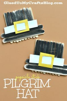 Thanksgiving Crafts for Preschool - Pre-K Kids to Make - Pilgrims craft ideas for little kids
