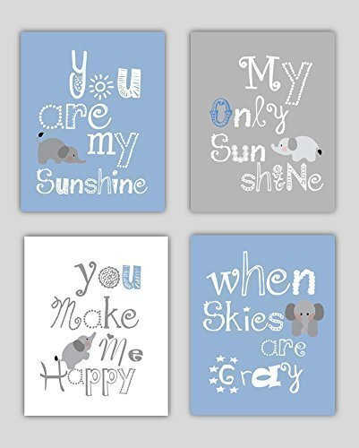 Amazing You Are My Sunshine Wall Hanging for Baby Nursery Great shower gift idea