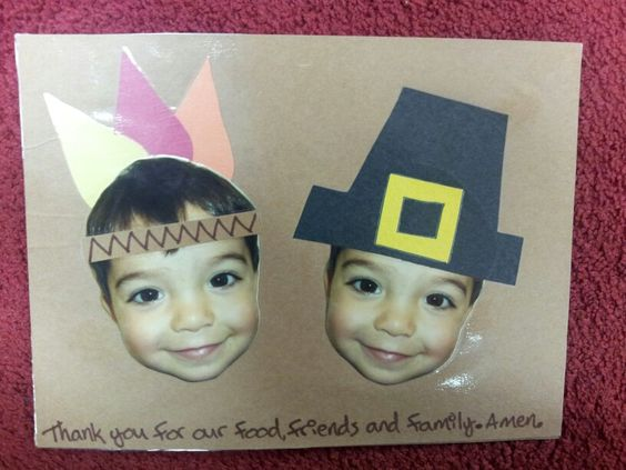 Thanksgiving Crafts for Preschool - Pre-K Kids to Make - Pilgrims Craft Ideas