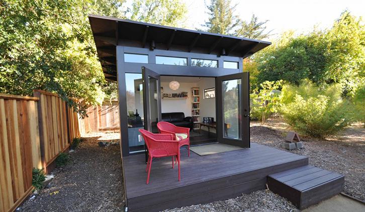 Shedquarters Backyard Office Ideas Shed Office Ideas