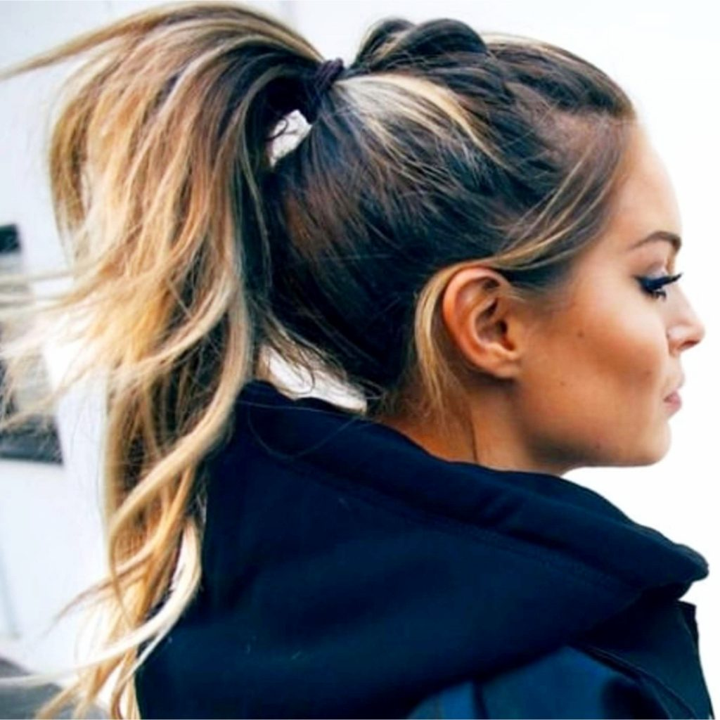 High ponytails hairstyles to try