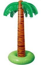 Inflatable Luau Palm Trees 5 Foot - Set of 2 Inflate Palm Trees