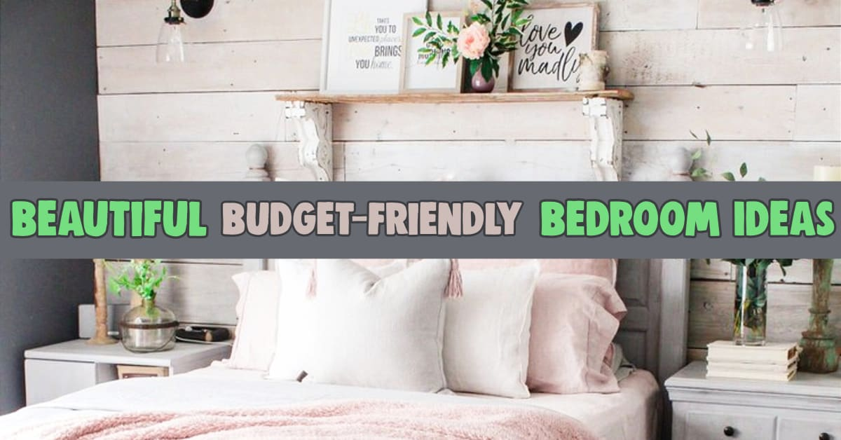 Beautiful Bedroom Ideas - Simple Bedroom Decorating Ideas I Love! How to decorate room with simple things & small bedroom decorating ideas on a budget. If you love home decor on a budget, you will love these easy DIY bedroom decor ideas for master bedrooms, couples, small bedrooms, guest bedrooms etc. Here's how to make your bedroom look awesome with these cheap decorating ideas and budget-friendly DIY bedroom makeovers. Best Pinterest bedroom ideas on a budget!