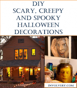 DIY Scary Halloween Decorations - Ideas and Instructions to make spooky Halloween decorations.