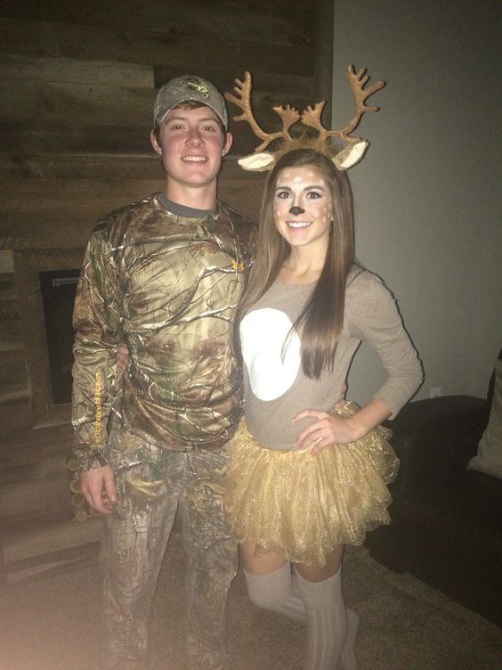 Boyfriend-approved couple Halloween costume idea - the deer and ...
