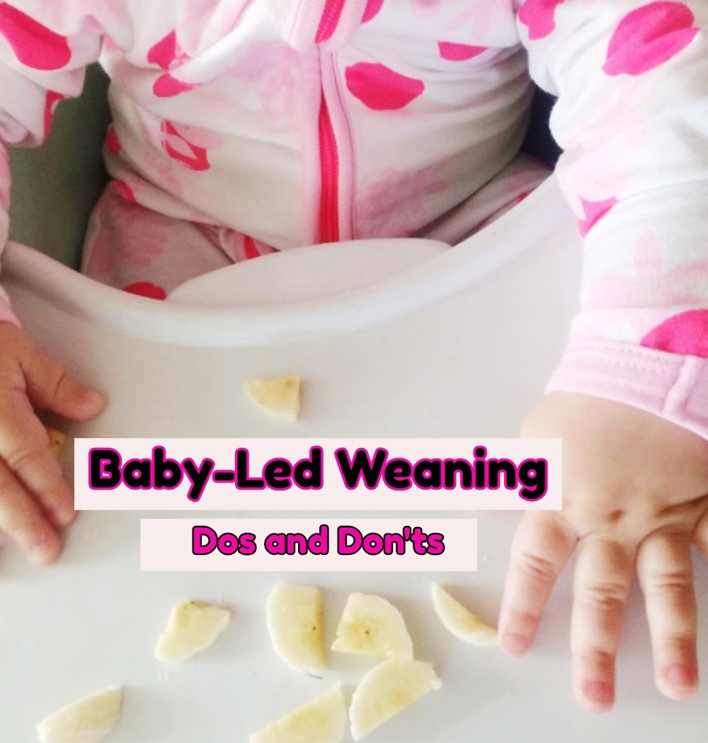Baby Led Weaning Help and Info - What to do and NOT to do when starting baby led weaning