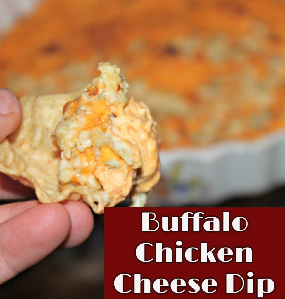 Simple party appetizer crowd pleaser idea: Buffalo Chicken Cheese Dip Recipe