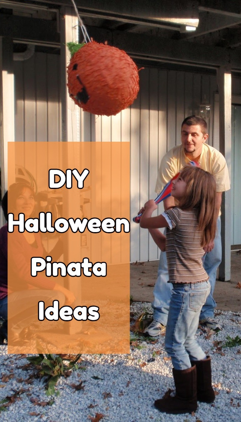Halloween Party Pinatas DIY ideas and instructions - super cute!