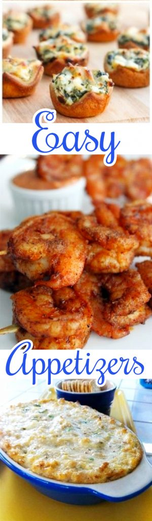 Delicious and easy party appetizers ideas - great for a crowd, small party, football party of any get-together