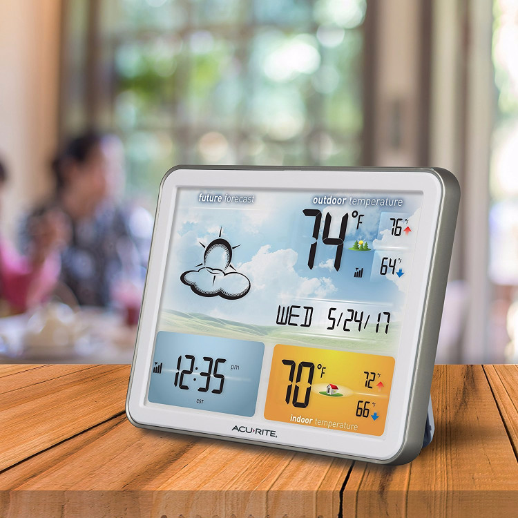 Most accurate outdoor thermometer and most reliable wireless indoor outdoor thermometer for home use.
