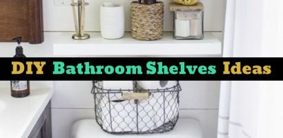 Bathroom Shelves – Beautiful and Easy DIY Bathroom Space Saver Shelving Ideas