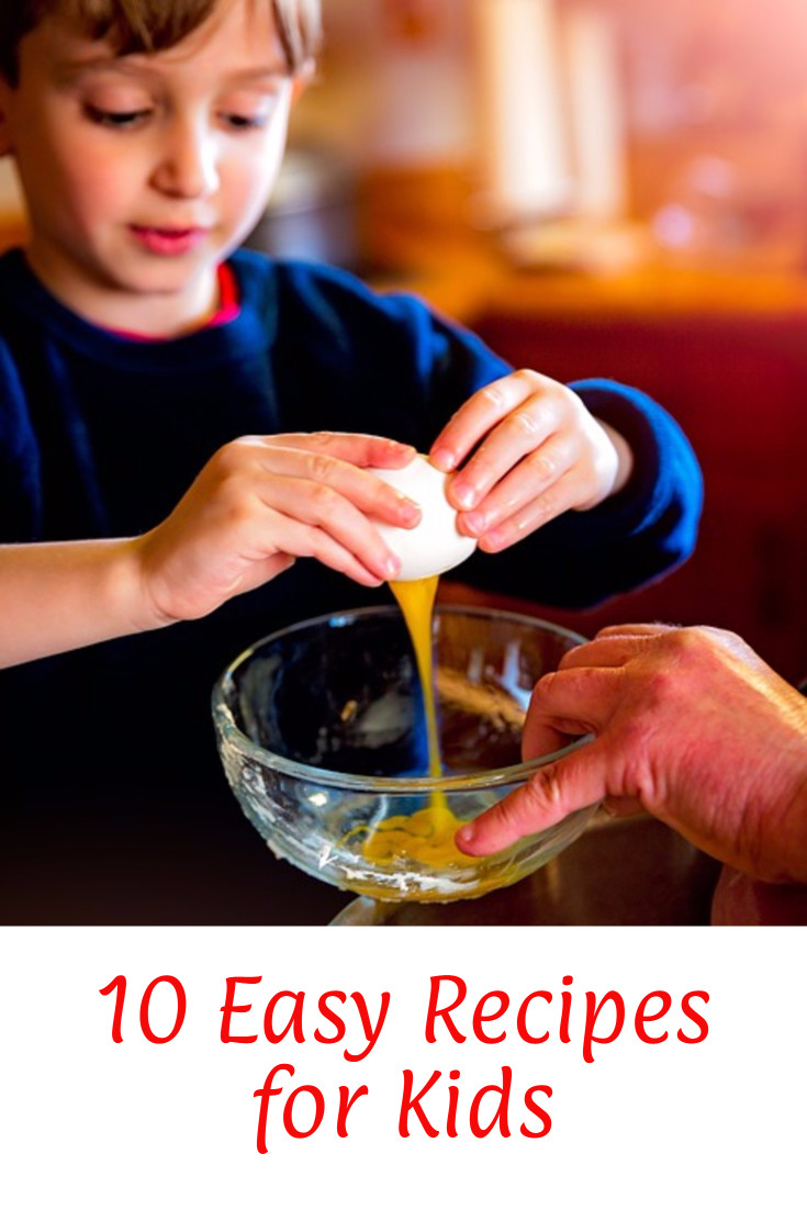 Fun and Easy Recipes for Kids to make with their parents.