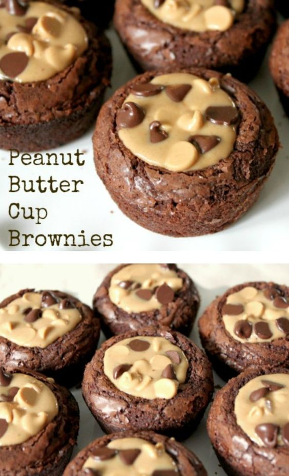Peanut Butter Cup Brownies – Yes PLEASE!