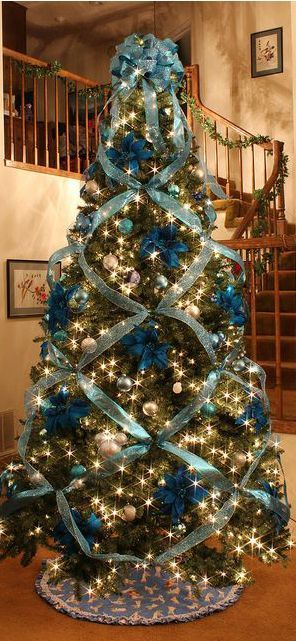 Christmas Trees! Fake Christmas Tree Decorating Ideas