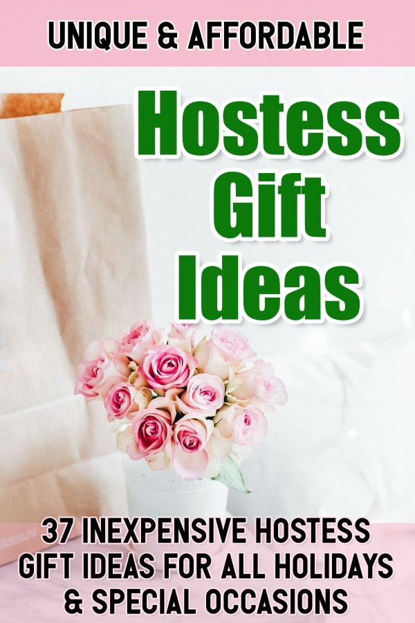 hostess gift ideas - inexpensive hostess gifts ideas for baby shower, Thanksgiving, bridal shower and all holidays.
