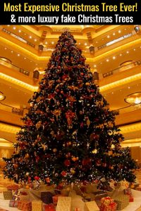 The Most Expensive Christmas Tree EVER and more luxury fake Christmas trees you have GOT to see!
