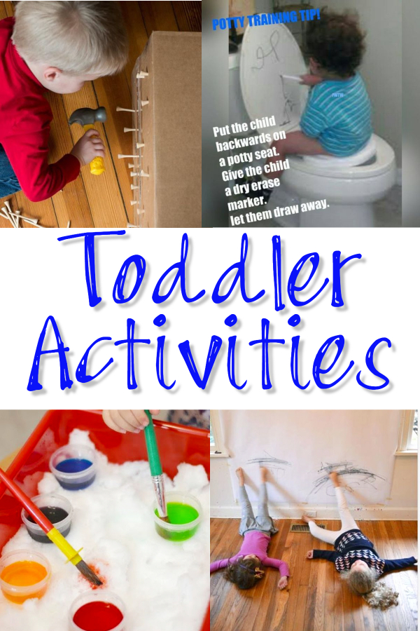 9 Toddler Activities I Would Never Let MY Toddler Do (but might let the grandkids do)