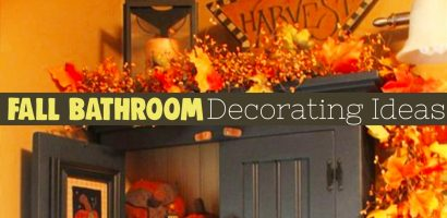 Fall Bathroom Decor! 10 Fall & Autumn Bathroom Decorating Ideas We Love