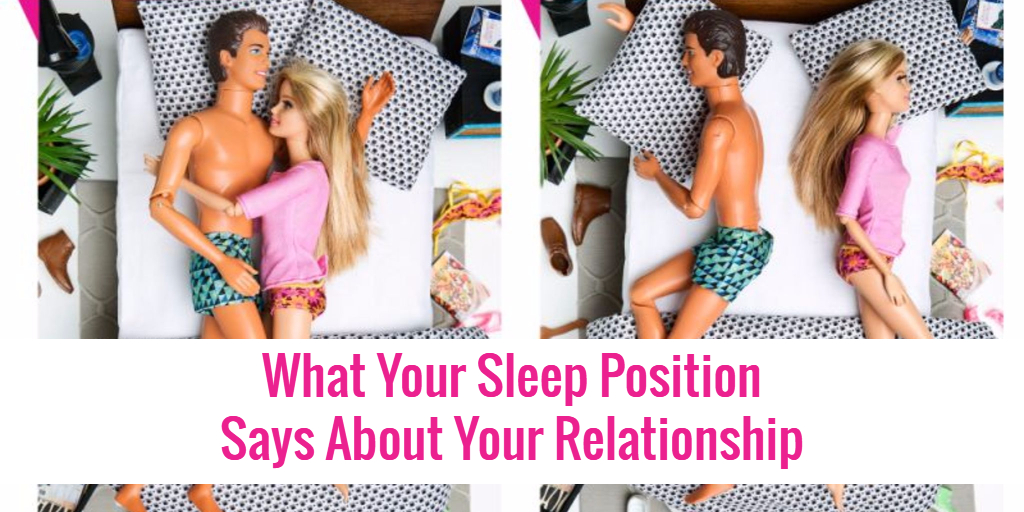 What your sleep position in bed as a couple means about your relationship