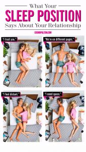 What your sleep position means about your relationship. Is your marriage / relationship in trouble?
