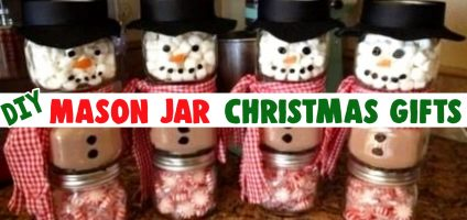 Mason Jar Christmas Gifts & Crafts – Easy Mason Jar Christmas Gift Ideas for Homemade Holiday Gifts