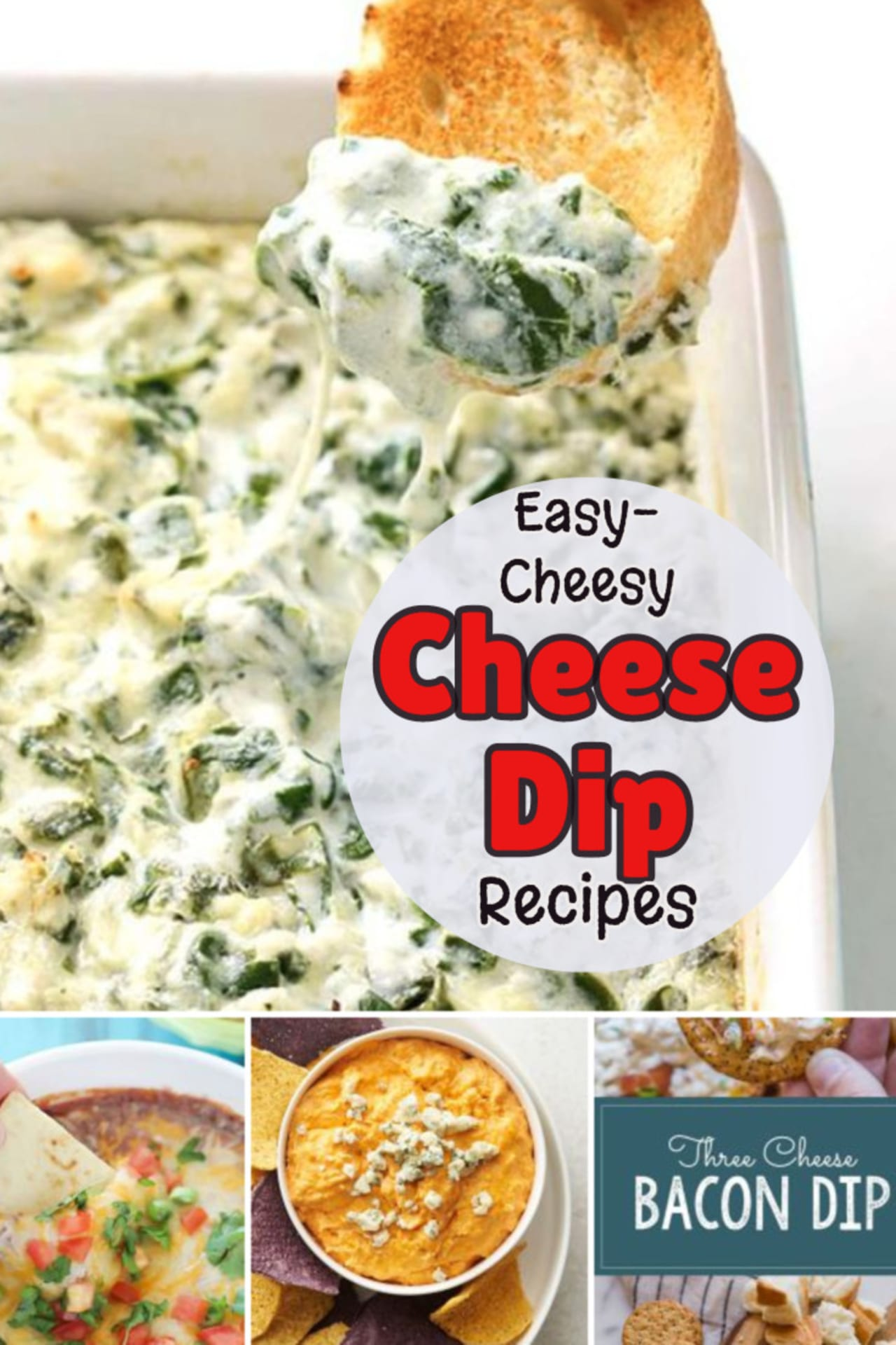 Easy cheese dip recipes for a crowd. Easy Cheesy Cheese Dip Recipes - Great Appetizer Ideas!