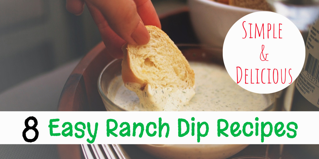 Easy Ranch Dip Recipes - my favorite cold ranch dip recipes for veggies and chip that are all super easy to make and insanely good crowd pleasing recipes. They are truly the perfect party food ! Bacon ranch dip, homemade ranch dip, jalapeno ranch dip, fiesta ranch dip, buffalo chicken ranch dip, spicy ranch dip recipe and more.