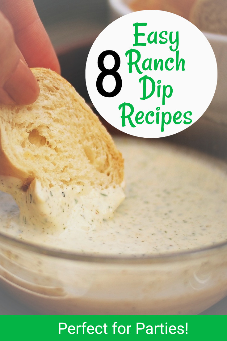 8 easy ranch dip recipes for parties guaranteed crowd for Easy ranch