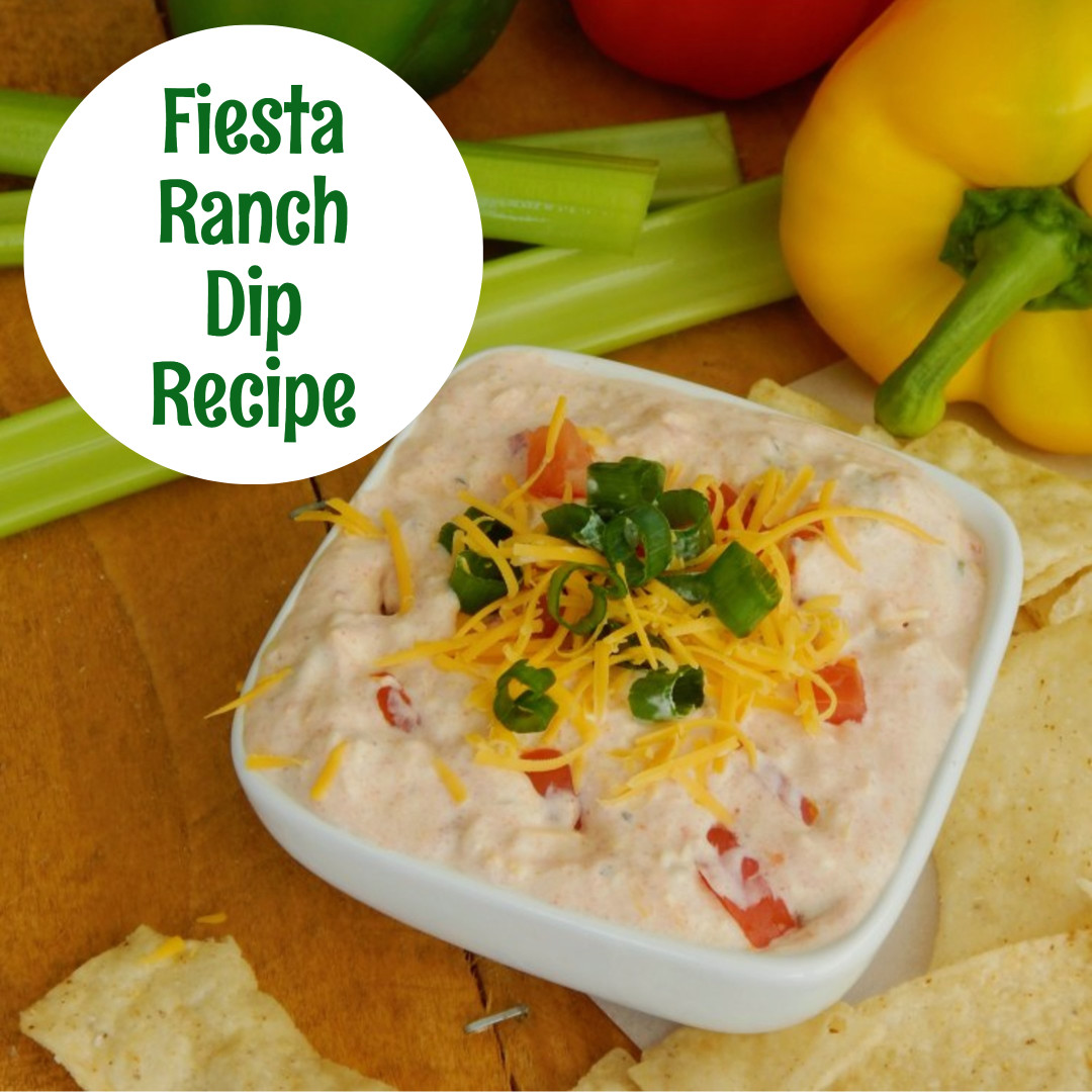 Fiesta Ranch Dip Recipe. My favorite cold ranch dip recipes for veggies and chip that are all super easy to make and insanely good crowd pleasing recipes. They are truly the perfect party food!