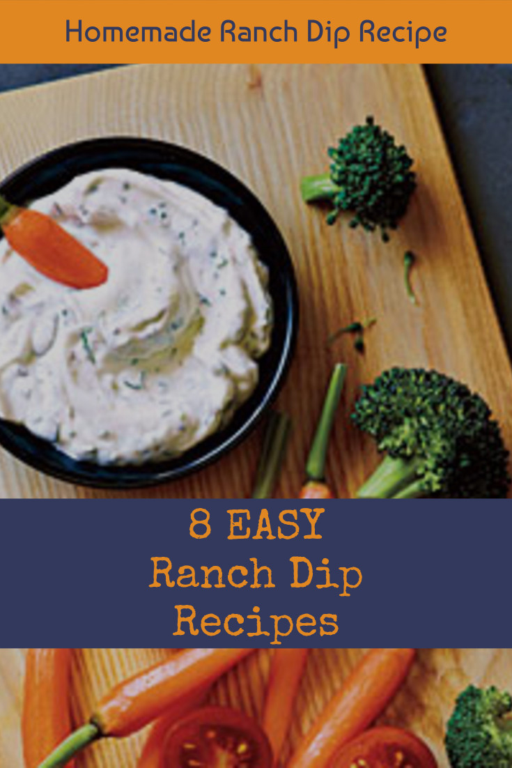EASY Homemade Ranch Dip Recipe. My favorite cold ranch dip recipes for veggies and chip that are all super easy to make and insanely good crowd pleasing recipes. They are truly the perfect party food!