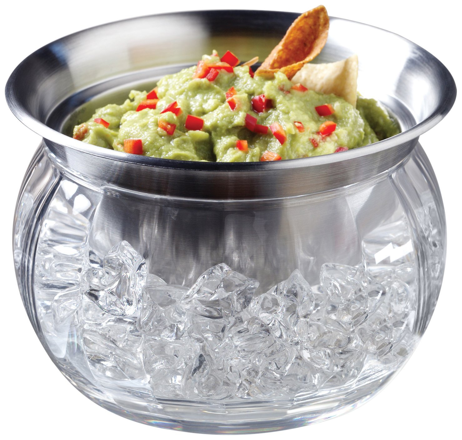 Best Party Bowl Idea EVER - and ICED dip bowl for your party dips