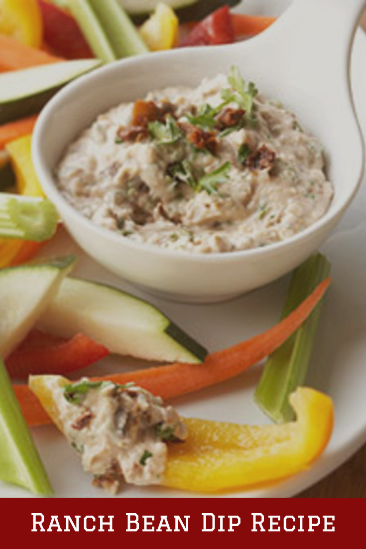 Ranch Bean Dip Recipe. My favorite cold ranch dip recipes for veggies and chip that are all super easy to make and insanely good crowd pleasing recipes. They are truly the perfect party food!
