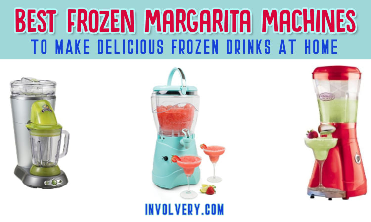 Best frozen margarita machines for home use - our top 3 picks for the best budget friendly frozen drink maker and margarita machine for the money