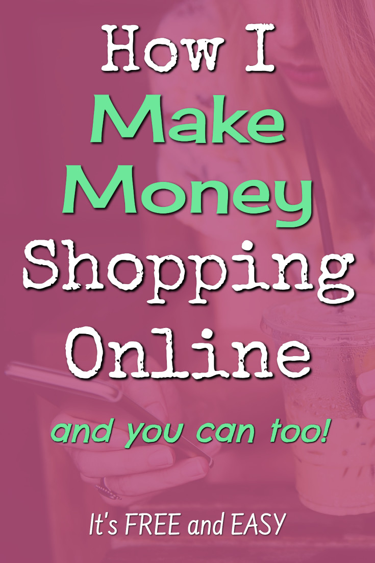 Make MONEY shopping online? Yes! It's very real! It's free to do too. Here's how you can make money from home by simply shopping online.