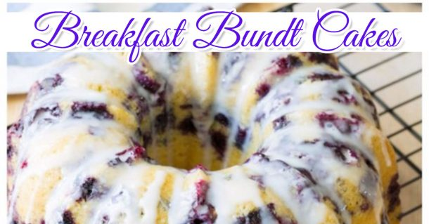 Easy and delicious breakfast bundt cake recipes
