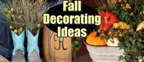 DIY Fall Decor for the Home and Fall Crafts We Love