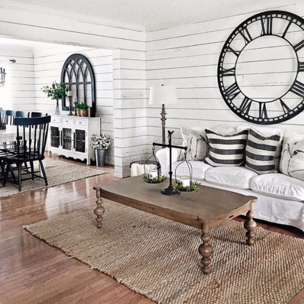 farmhouse living room design idea Farmhouse living room ideas - #livingroomideas #farmhouselivingroomideas #farmhousedecor #livingroomdecor #diyhomedecor #homedecorideas #diyroomdecor #farmhousestyle #rustichomedecor