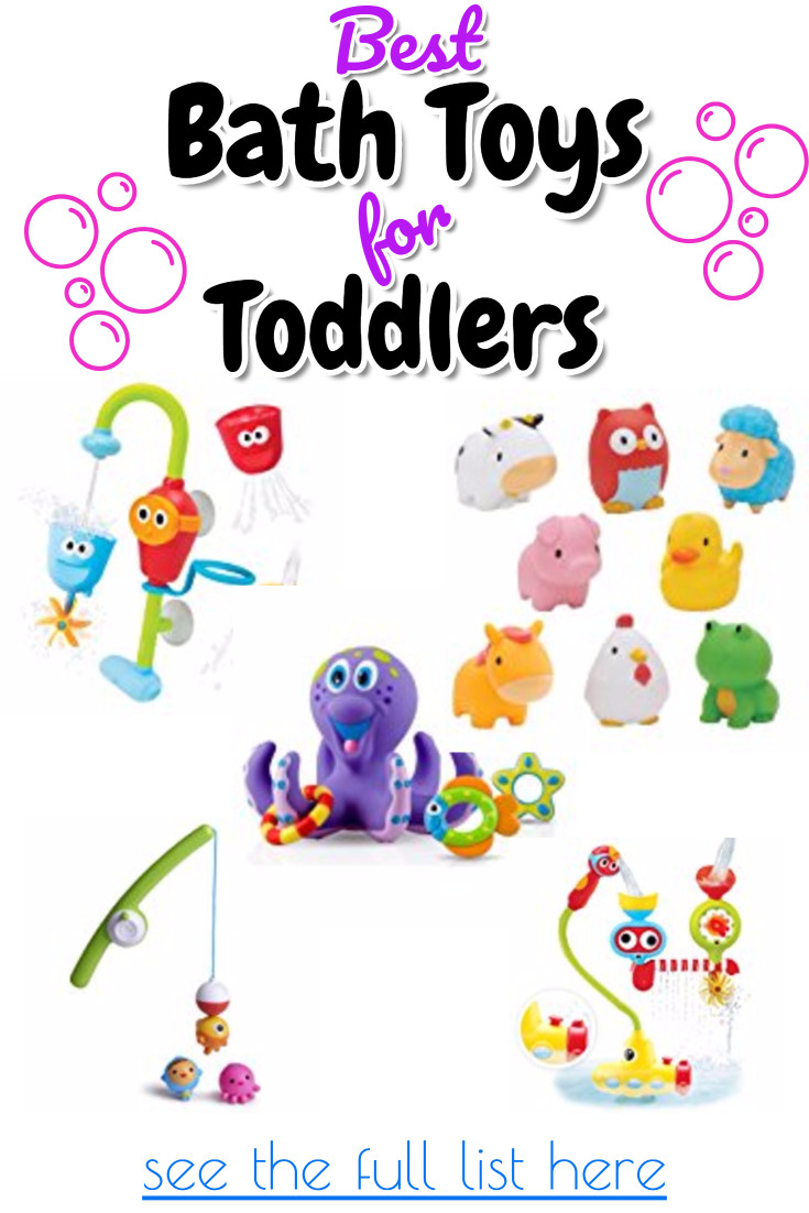 The 15 best toddler bath toys - Rub a Dub Dub making bath time fun AND educational with these bath toys toddlers love!